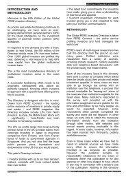 INTRODUCTION AND METHODOLOGY - PEI Media
