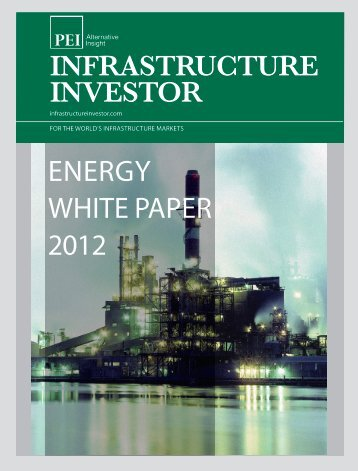 ENERGY WHITE PAPER 2012 - PEI Media