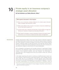 Private equity in an insurance company's strategic asset ... - PEI Media