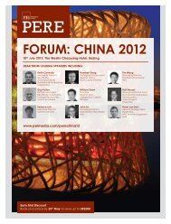 FORUM: CHINA 2012 - PEI Media