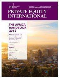 the africa handbook 2012 - PEI Media