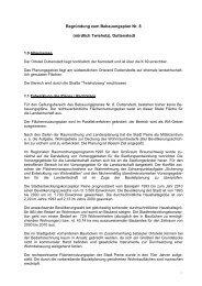 Begründung zum Bebauungsplan Nr - Peine