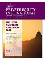 the latin american handbook 2012 - PEI Media