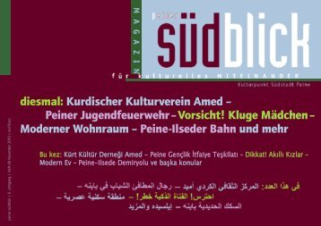 diesmal: Kurdischer Kulturverein Amed - Peine