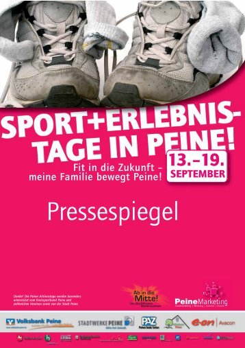 Pressespiegel - Peine Marketing GmbH