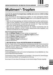 Mulimen®-Tropfen - Dr. Peithner KG