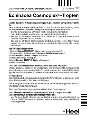Echinacea Cosmoplex®-Tropfen - Dr. Peithner KG