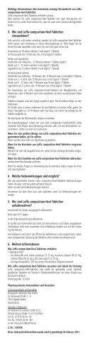 Luffa compositum- Heel®- - Dr. Peithner KG - Page 2