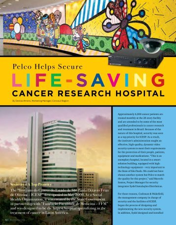 Brazil Cancer Research Hospital - Pelco