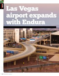 Las Vegas airport expands with Endura (PDF file, 2.4 MB) - Pelco