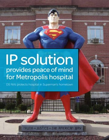 IP Solution provides peace of mind for Metropolis hospital - Pelco
