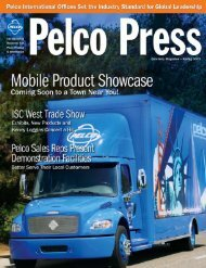 Global Strength, Local Support - Pelco