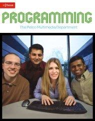 Programming Success: The PelcoMultimedia Department