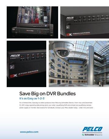 Save Big on DVR Bundles - Pelco