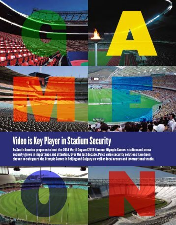 Video Is Key Player In Stadium Security - Pelco