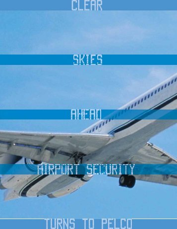 Airport Security turns to Pelco
