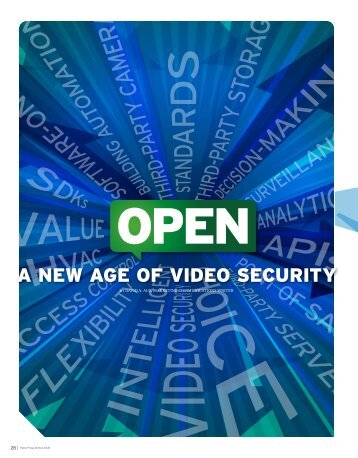 A New Age of Video Security - Pelco