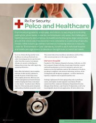 Pelco and Healthcare