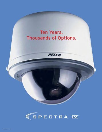 Spectra IV: Modular Design Ahead of its Time - Pelco