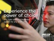 IP VMS Brochure (PDF file, 581 KB) - Pelco