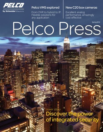 Download Entire Issue (PDF file, 11 MB) - Pelco