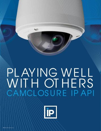 Introducing Camclosure IP - Pelco