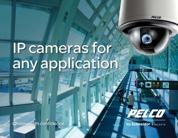 IP Camera Brochure - Pelco