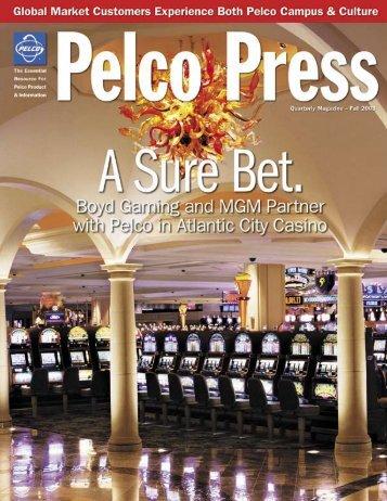 Press Release Fall of 2003 - Pelco