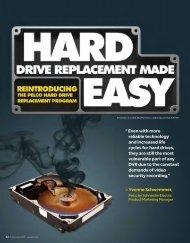 Hard Drive Replacement Program - Pelco