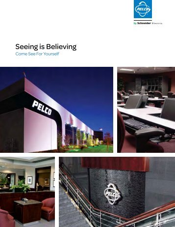 To learn more about our factory visits click here (PDF file ... - Pelco