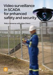 Video surveillance in SCADA for enhanced safety and security - Pelco