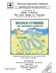 the Shawn O'Hisser study guide. - Pelican Publishing Company
