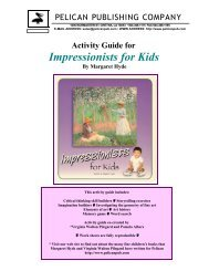 the Impressionists for Kids study guide. - Pelican Publishing Company