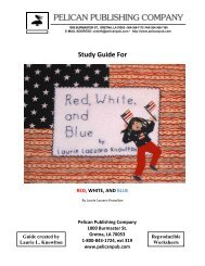 the Red, White, and Blue study guide. - Pelican Publishing Company