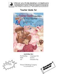 the Cotton Candy Catastrophe study guide. - Pelican Publishing ...
