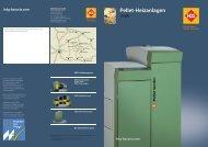 Pellet-Heizanlagen - HDG Bavaria GmbH
