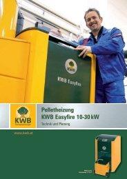Pelletheizung KWB Easyfire 10-30 kW - Jenni Energietechnik AG