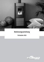 Bedienungsanleitung - Pelletshome.com