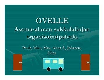 Ovelle-sukkula (pdf) - Peloton
