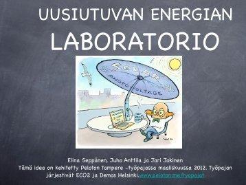 UUSIUTUVAN ENERGIAN LABORATORIO - Peloton