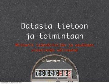 Kulutusmittarit viestinnän välineenä (pdf) - Peloton