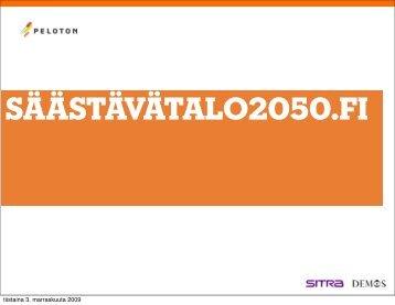 Säästävätalo2050.fi (pdf) - Peloton