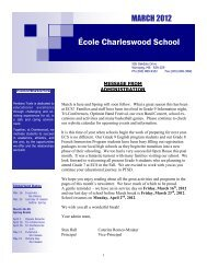 École Charleswood School - Pembina Trails School Division