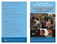 Threat Assessment - Pembina Trails School Division