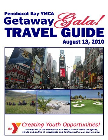 live auction getaways - Penobscot Bay YMCA