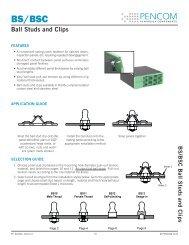 Ball Studs and Clips - Pencom