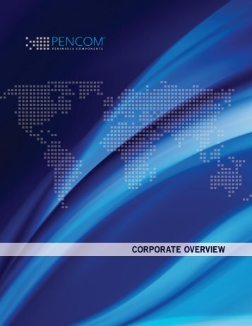 Corporate Overview PDF - Pencom