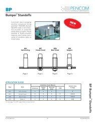 Bumper Standoffs - Pencom