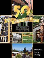 2011-2012 Course Catalog - Peninsula College