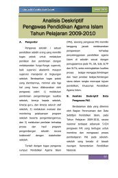 Analisis Deskriptif Pengawas Pendidikan Agama Islam Tahun ...